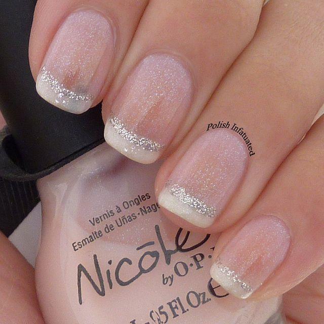 Polished French Manicure Design