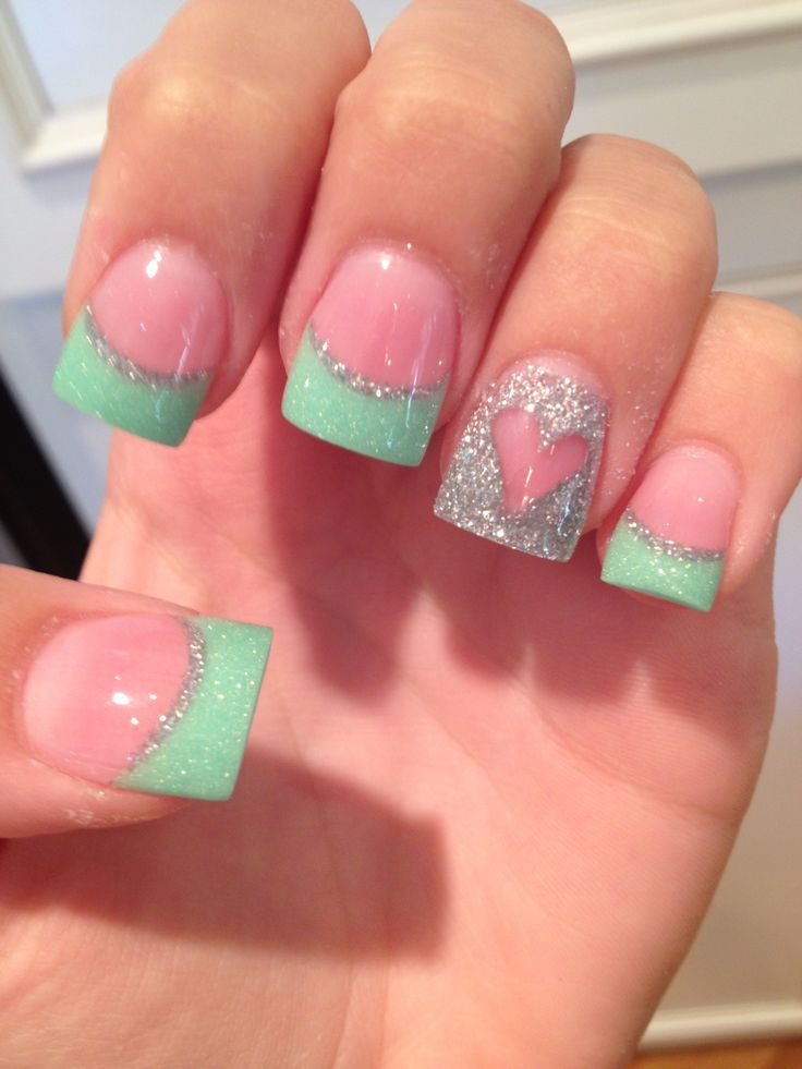 Pretty Colored Nails