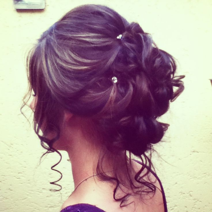 Cute Hairstyles For Prom cute side ponytailprom hair Pretty Updo For Prom Hairstyles