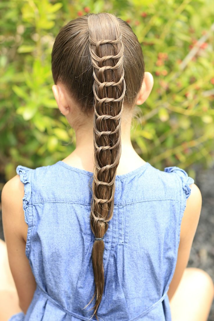 12 Beautiful Knotted Ponytail Hairstyles - Pretty Designs