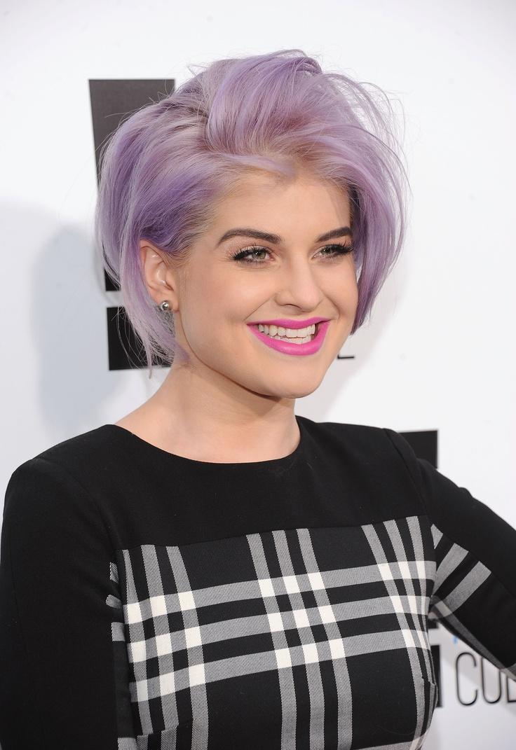 16 eye catching kelly osbourne hairstyles pretty designs purple bob haircut for kelly osbourne hairstyles urmus Choice Image