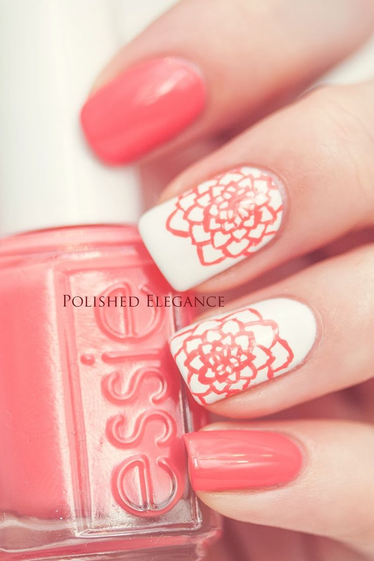 Rose Nail Net: Simple And Sweet Nail Arts For Beginners