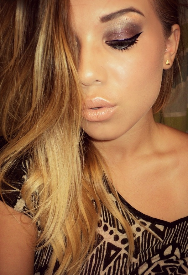 Sexy Nude Lips Makeup Idea for Fall 2014