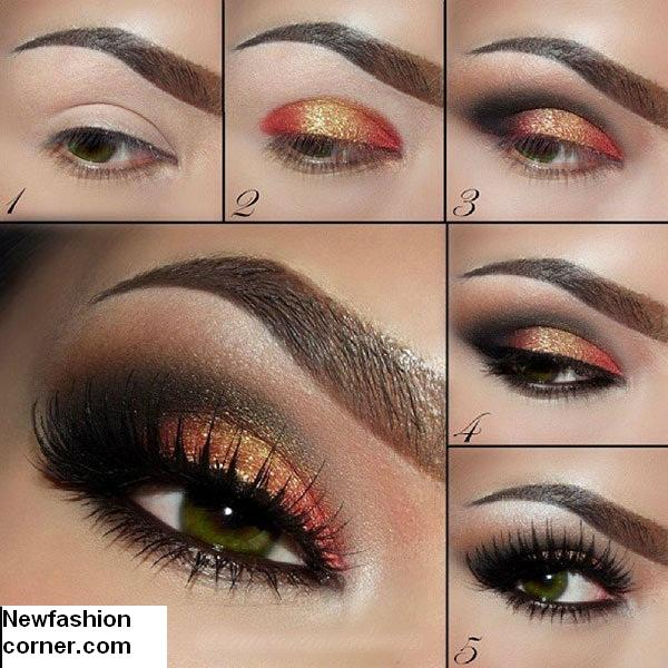 13 Glamorous Smoky Eye Makeup Tutorials For Stunning Party U0026 Night-out Look - Pretty Designs