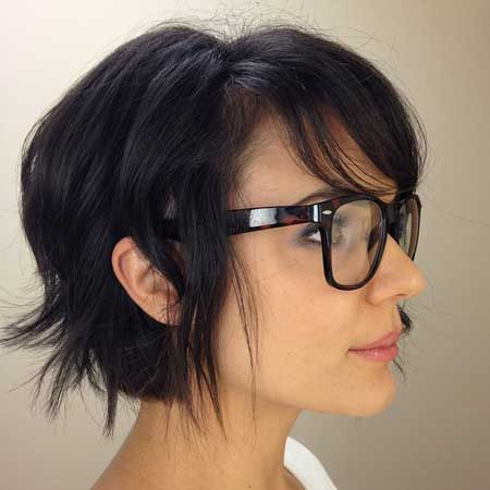12 fabulous short hairstyles with bangs  pretty designs