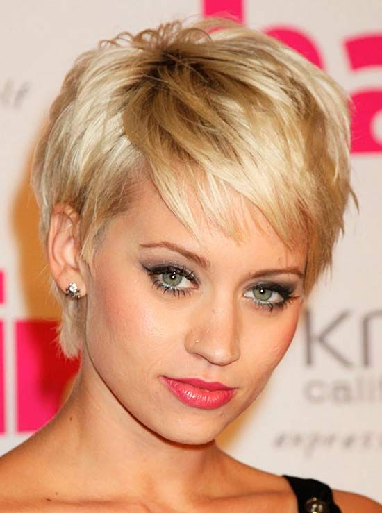 Short Pixie Haircut With Bangs Pinterest