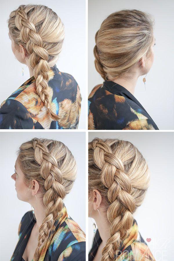 Swell 17 Stunning Dutch Braid Hairstyles With Tutorials Pretty Designs Hairstyles For Men Maxibearus