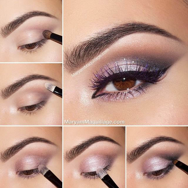 13 glamorous smoky eye makeup tutorials for stunning party - Smoky eyes tuto ...
