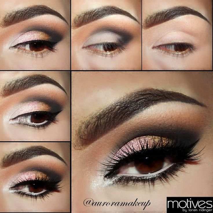 Smokey Eyes for Party Eye Makeup