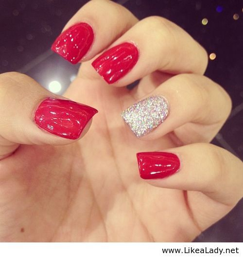16 Bloody Hot Red Nails for Women | Pretty Designs