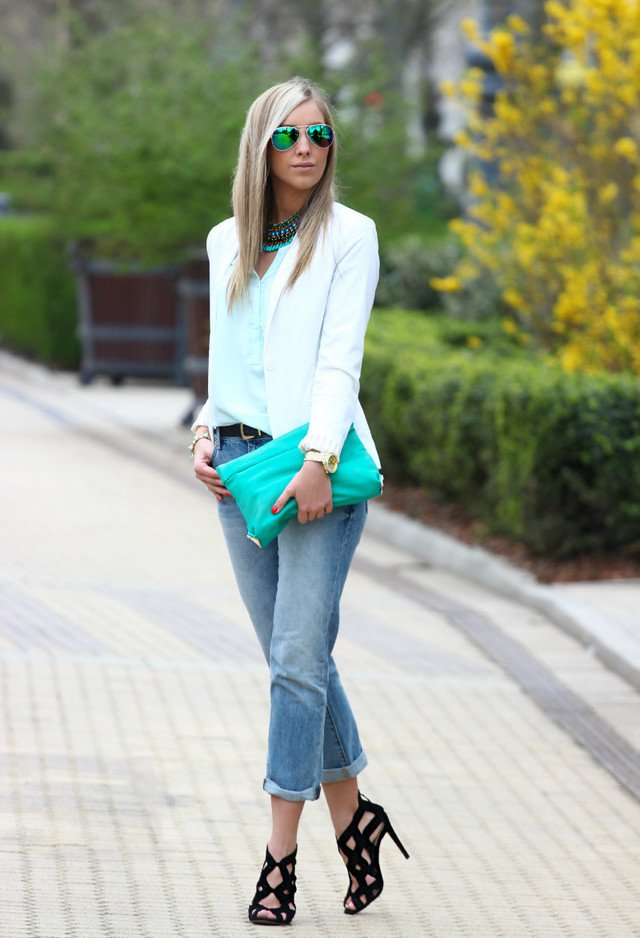 Stylish Outfit Ideas with Boyfriend Jeans