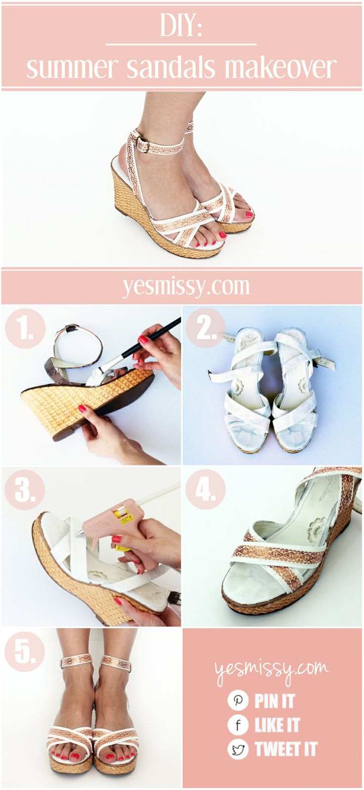 Summer Sandal Makeover