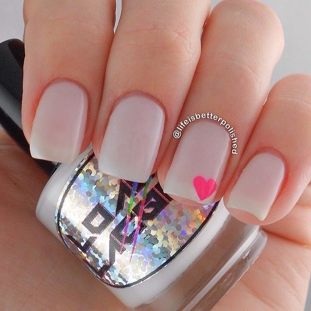 simple and sweet nail arts for beginners