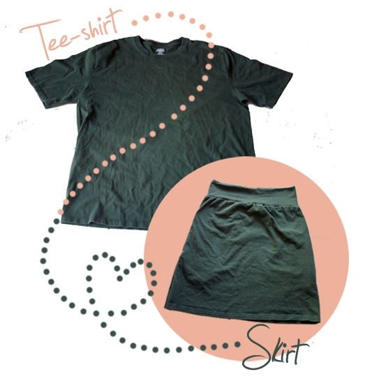 T-shirt Skirt