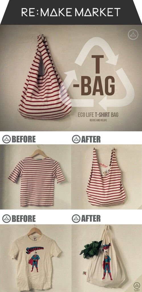 T-shirt into Bags