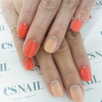 Two-tone Nails
