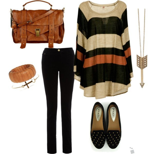 Warm Hued Outfit Idea for Fall 2014