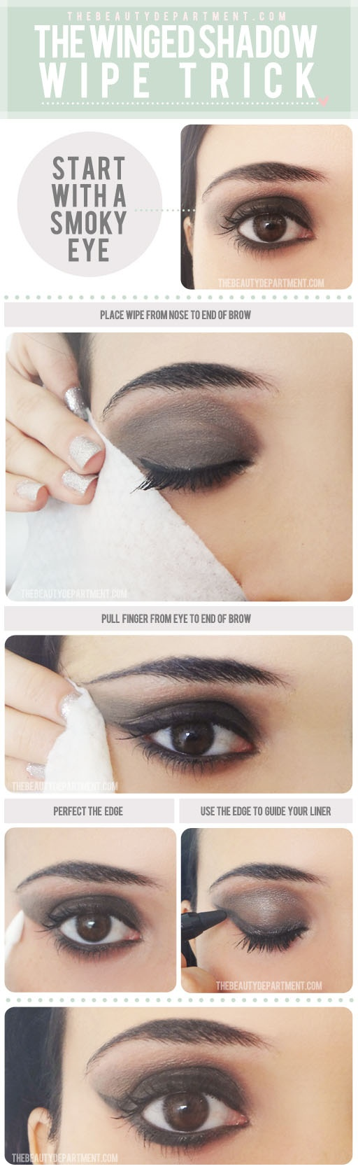 Winged Smokey Eyes Tutorial