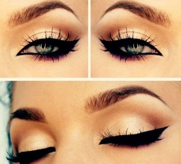 Winged Smokey Eyes