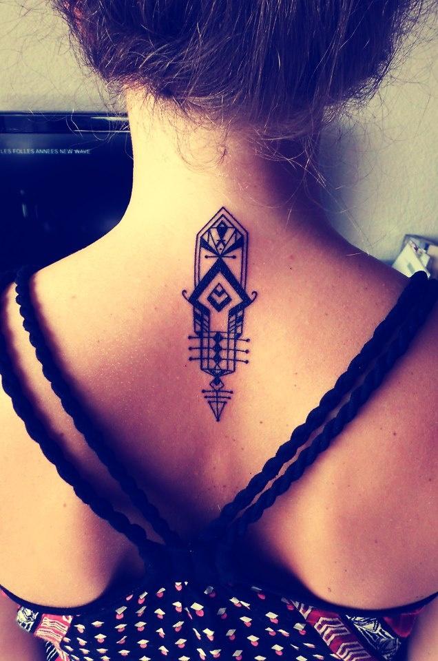 A Deco-style Tattoo
