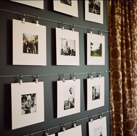A Way to Hang Photos