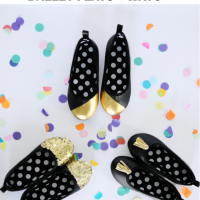 Adorable DIY Ballet Flats