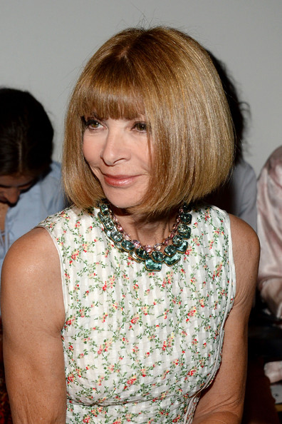 Anna Wintour Chin-length Bob