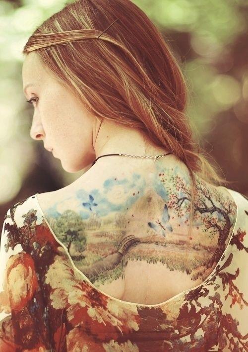 Artistic Tattoo Pattern