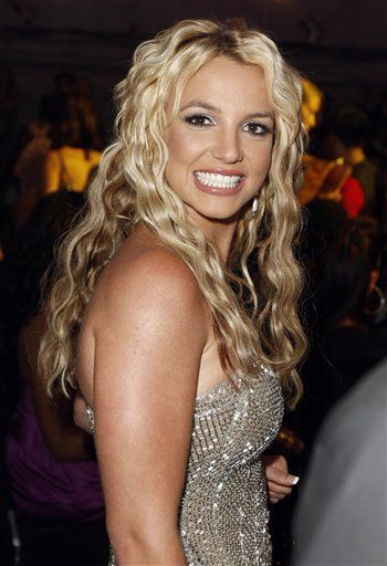 Awesome Curly Hair for Britney Spears Hairstyles