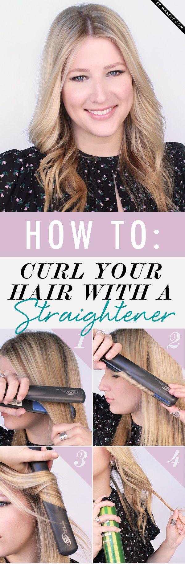 Style een krullend haar met je stijltang