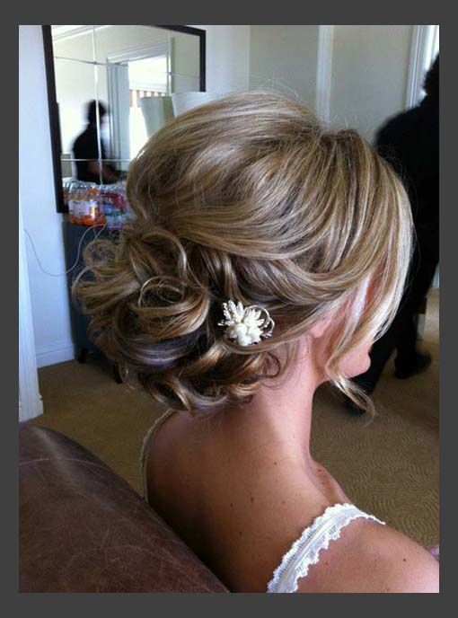 Beautiful Wedding Updo for Medium Length Hair Pinterest [/caption