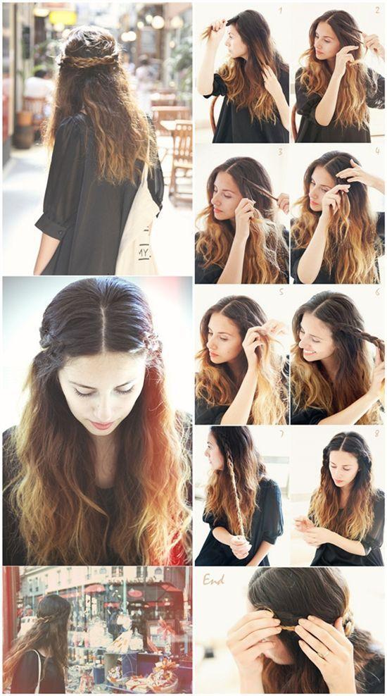 Fabulous 12 Pretty Braided Crown Hairstyle Tutorials And Ideas Pretty Designs Hairstyles For Women Draintrainus