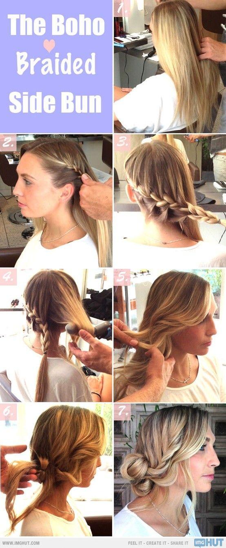 Pleasing Graceful And Beautiful Low Side Bun Hairstyle Tutorials And Hair Short Hairstyles Gunalazisus