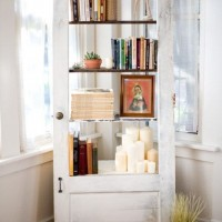 Book Case from a Door