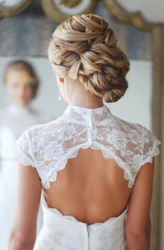 Braided Bun for Wedding Hairstyles