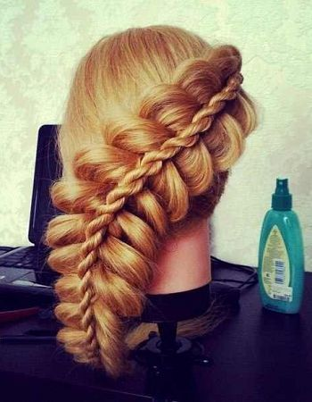 Braided Funky Hairstyle