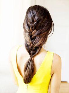Braided Mermaid Hairstyle