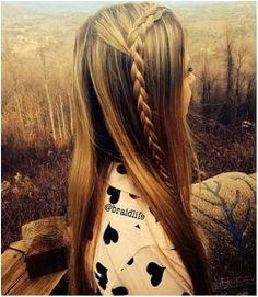 Braided Straight Hairstyle