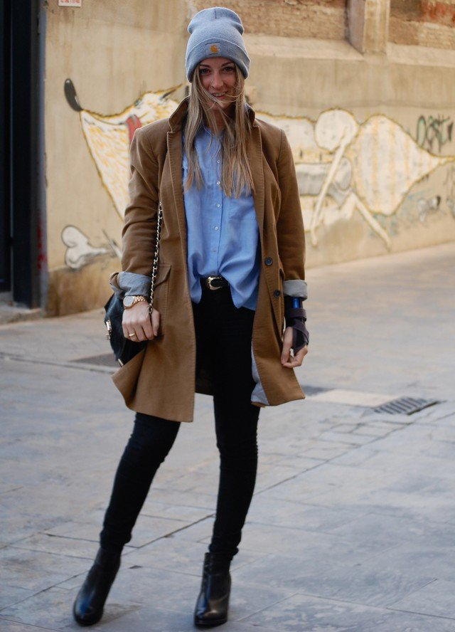 Fashionable Fall Outfit Ideas With Denim Shirts Pretty