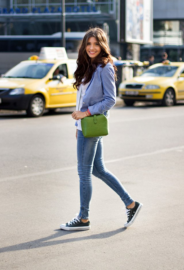Casual-chic Outfit Idea with Sneakers