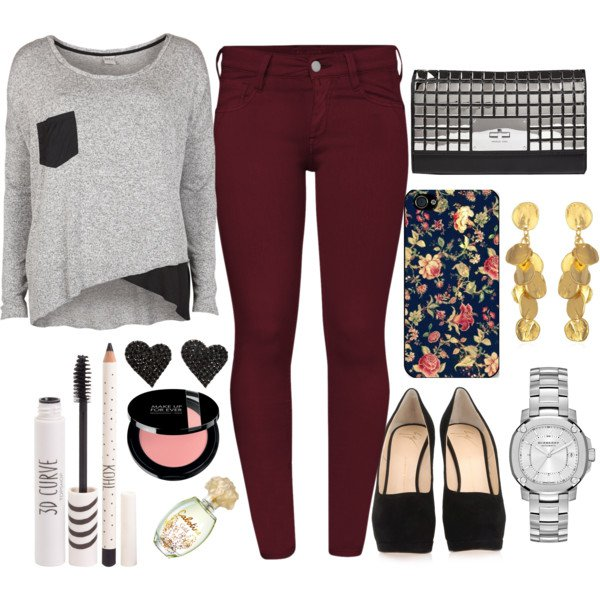 Casual Outfit Idea for Fall