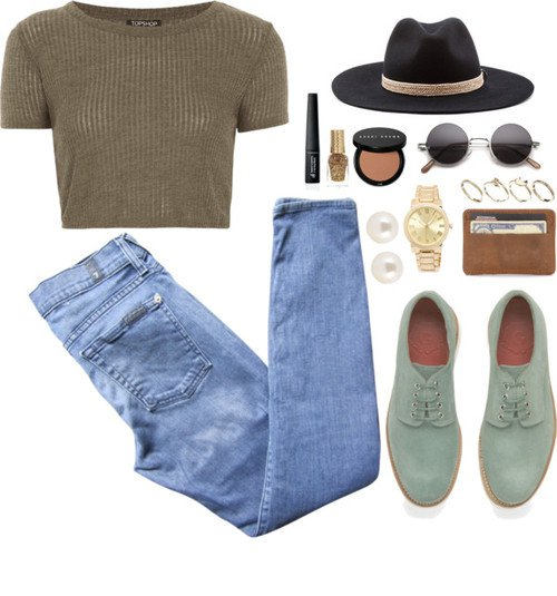 Casul Outfit Idea with Oxford Shoes