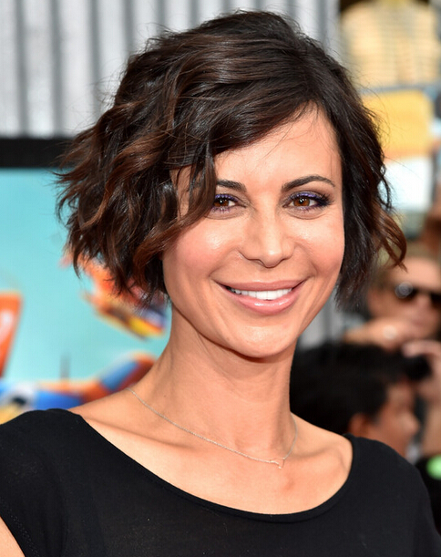Catherine Bell Short Bob