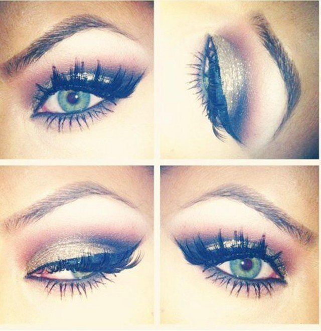 Chic Green Eye Makeup Look