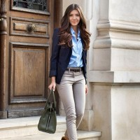 Chic Outfit Idea with a Blazer