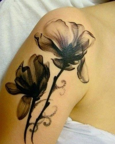 Chic Plant Tattoo
