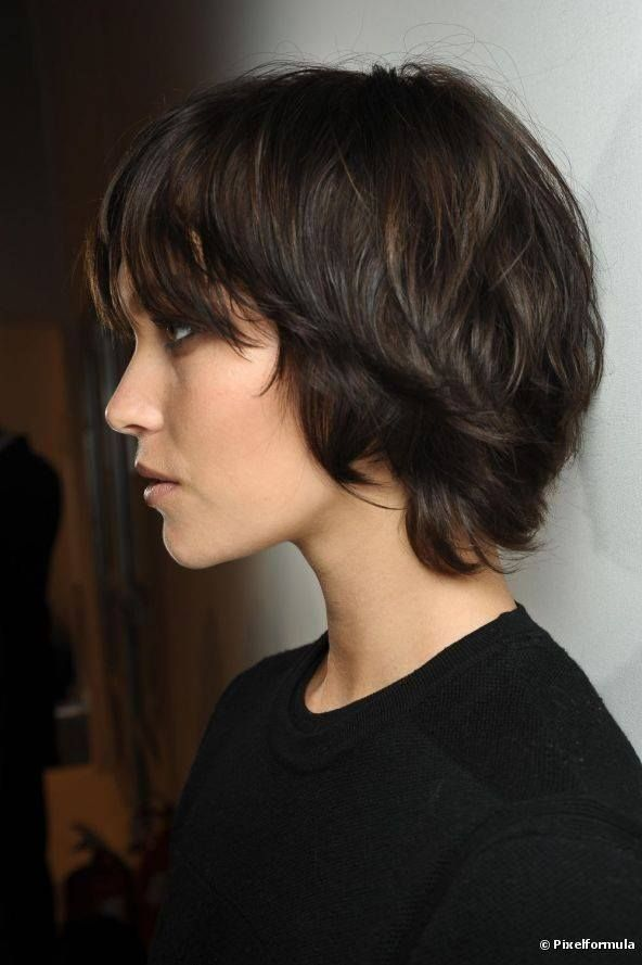 Choppy Bob Haircut for Black Hair