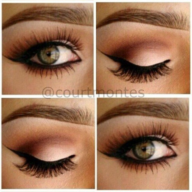 Coffee Eye Makeup for Women
