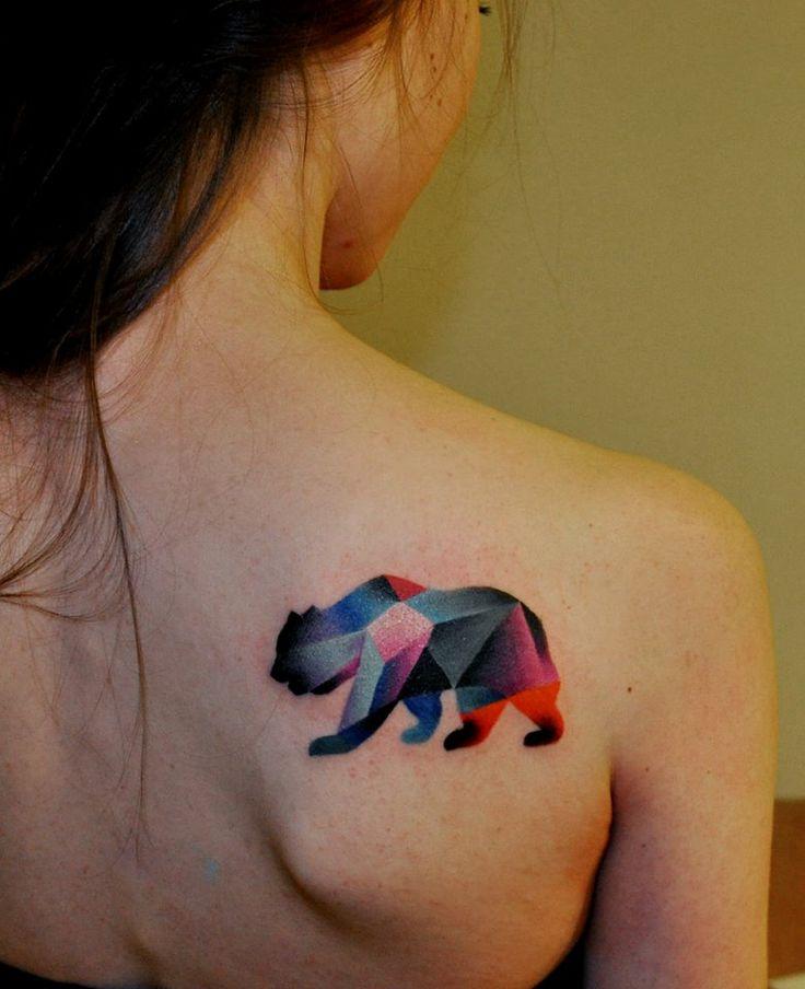 Colorful Animal Tattoo