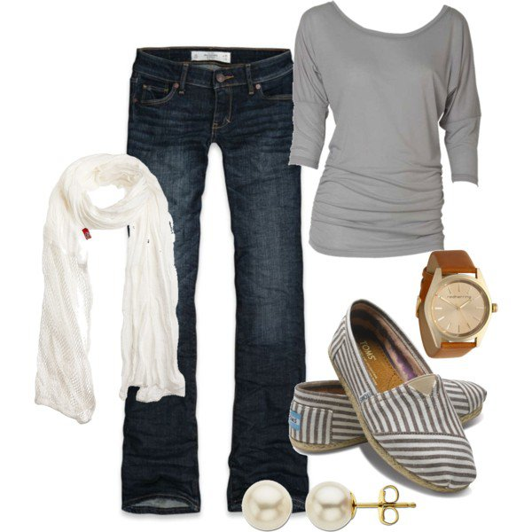 Comfortable Outfit Idea for Fall